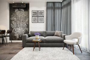 Гостиная в стиле эклектика Livingroom (10) с эркером
