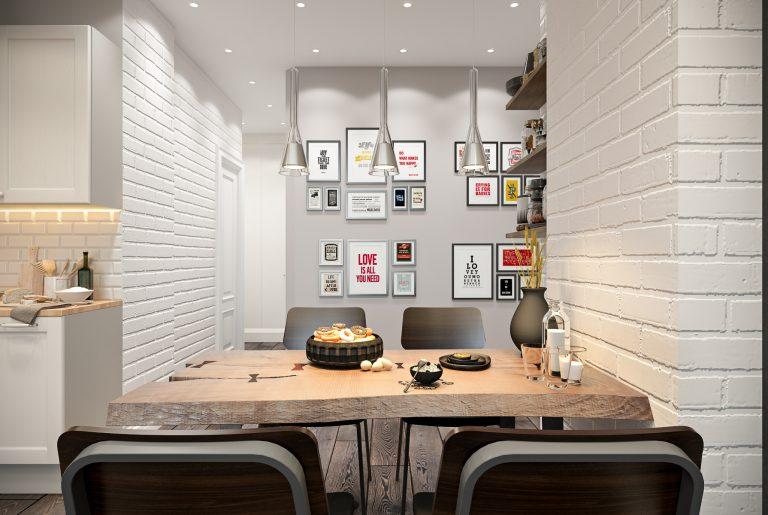 Гостиная в стиле эклектика Livingroom (12)