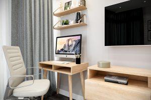 Рабочее место в гостиной Livingroom (9)