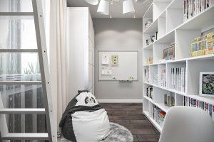 Детская комната вид 4