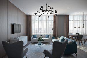 Гостиная в современном стиле View01