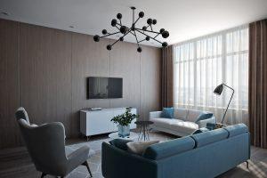 Гостиная в современном стиле View03