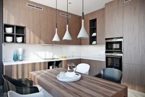 Кухня в современном стиле Kitchen View05