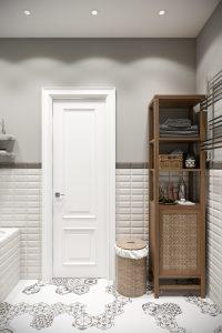 Ванная светлая bathroom (3) плитка с рисунками