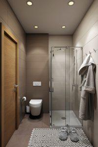 Ванная душевая Bathroom View03 дерево современный стиль