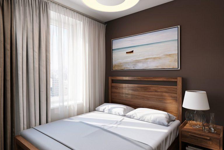 Спальня Bedroom дерево современный стиль