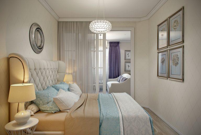 Спальня в стиле эклектика View15