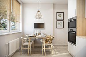 Кухня 2 скандинавский стиль