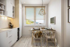 Кухня 3 скандинавский стиль