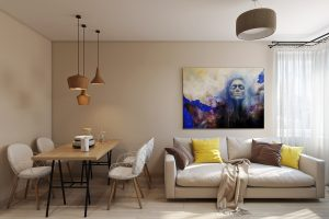 Гостиная студия Studio View03 картина