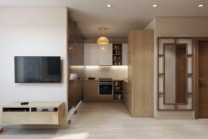 Кухня студия Studio View04 современный стиль