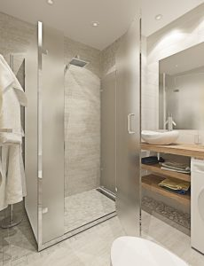 Душевой уголок санузел Bathroom