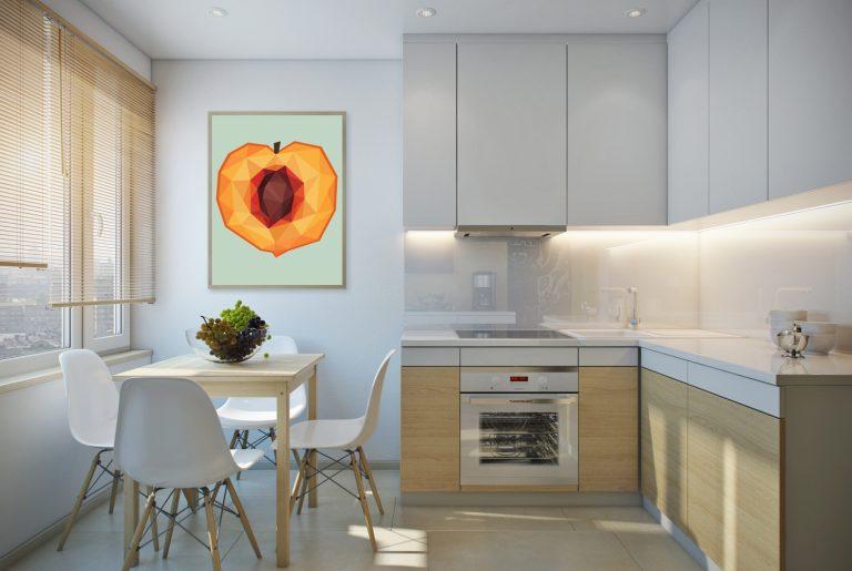 Кухня в экостиле Kitchen