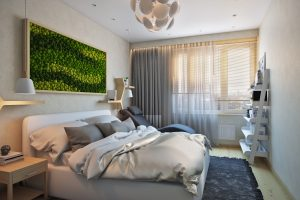 Спальня в экостиле Bedroom_1