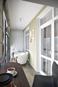 Балкон в современном стиле View19