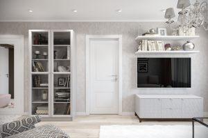 Гостиная-Livingroom (1) в стиле эклектика в санкт-петербурге
