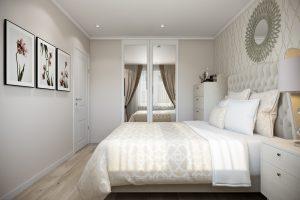 Спальня-Bedroom (1) в стиле эклектика в санкт-петербурге