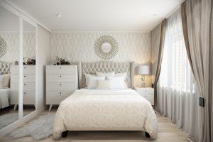 Спальня-Bedroom (2) в стиле эклектика в санкт-петербурге