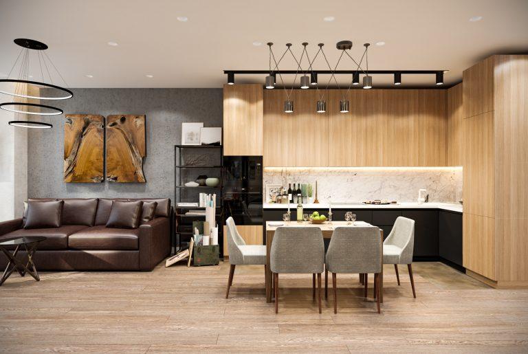 кухня-гостиная-kitchen-livingroom (7)