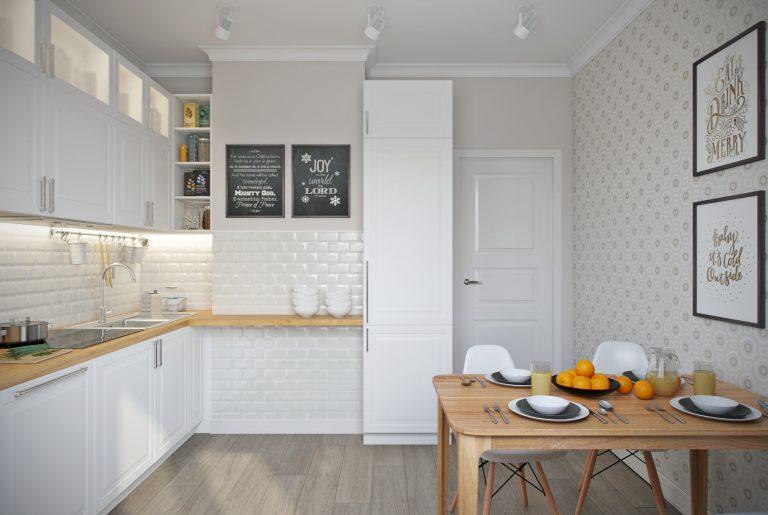 Кухня-kitchen1 в скандинавском стиле