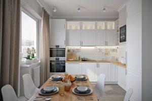 Кухня-kitchen2 в скандинавском стиле