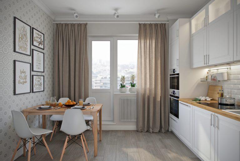 Кухня-kitchen3 в скандинавском стиле
