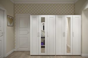 прихожая-Hallway1 в скандинавском стиле