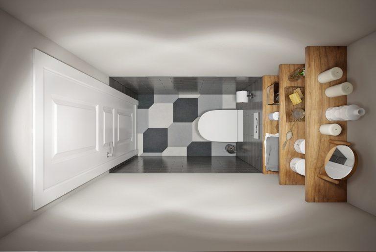ванная- bathroom в скандинавском стиле