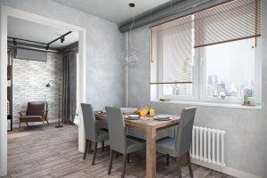 кухня-гостиная livingroom