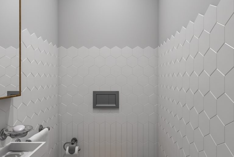 туалет с раковиной