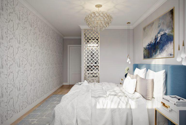 спальня с гардеробом