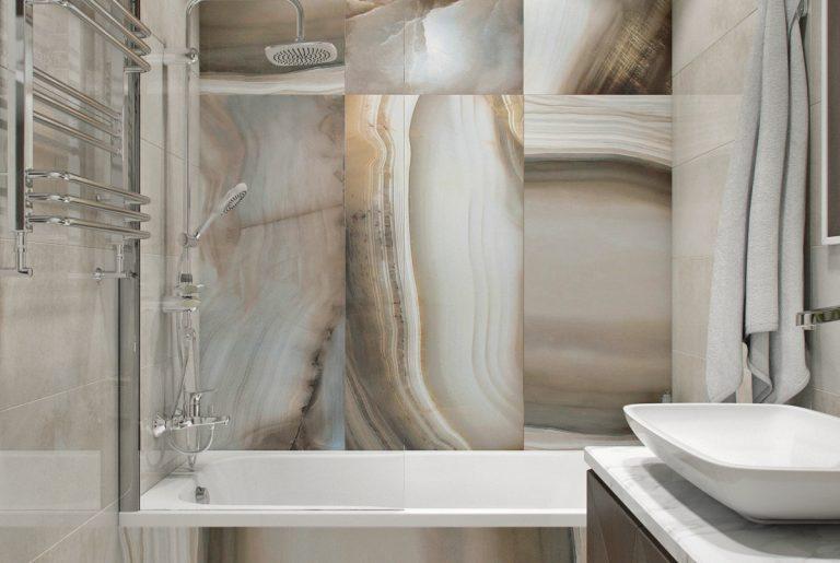 ванная с ониксом