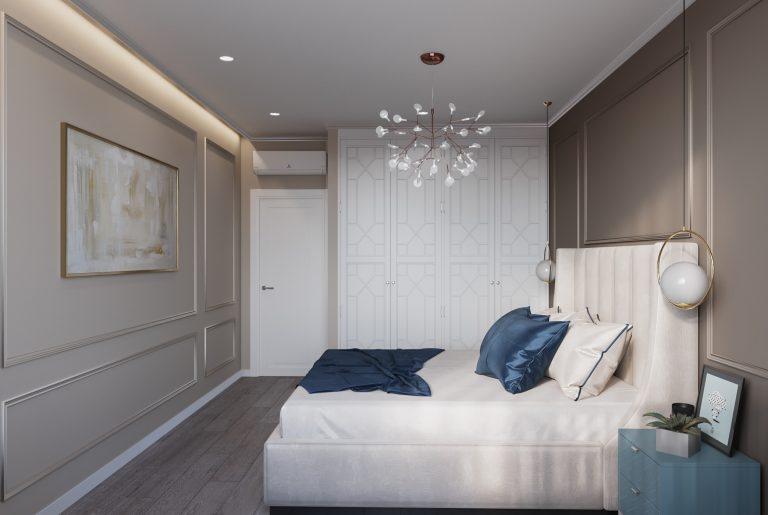 шкаф-купе для хранения в спальне