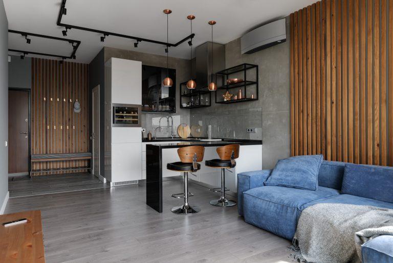 (RU) Реализованный проект квартиры 57 кв.м. в Киеве