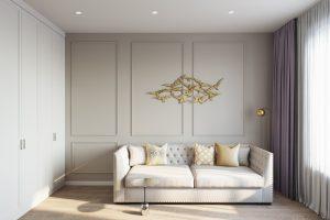 диван для бесед в кабинете