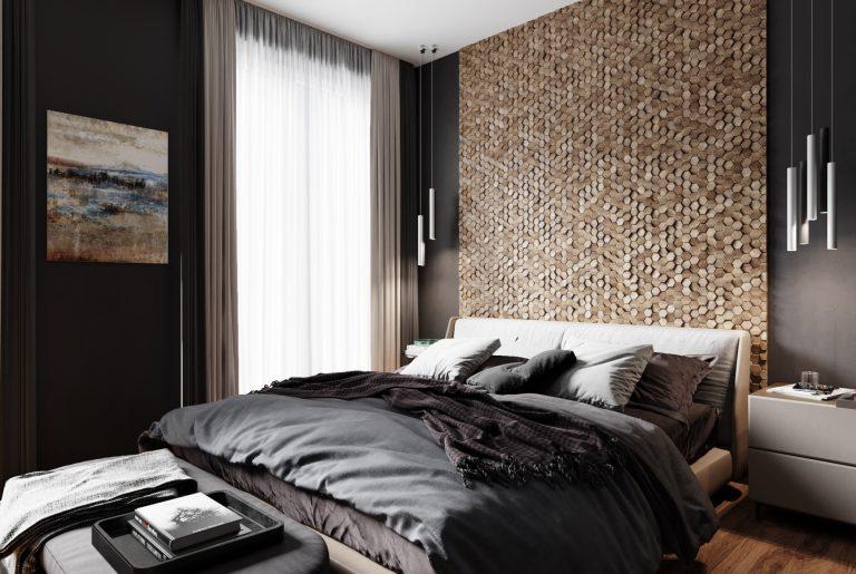 светильники в спальне у изголовья кровати
