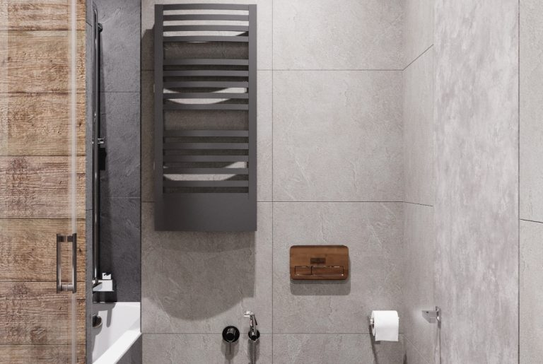 гостевой санузел с ванной