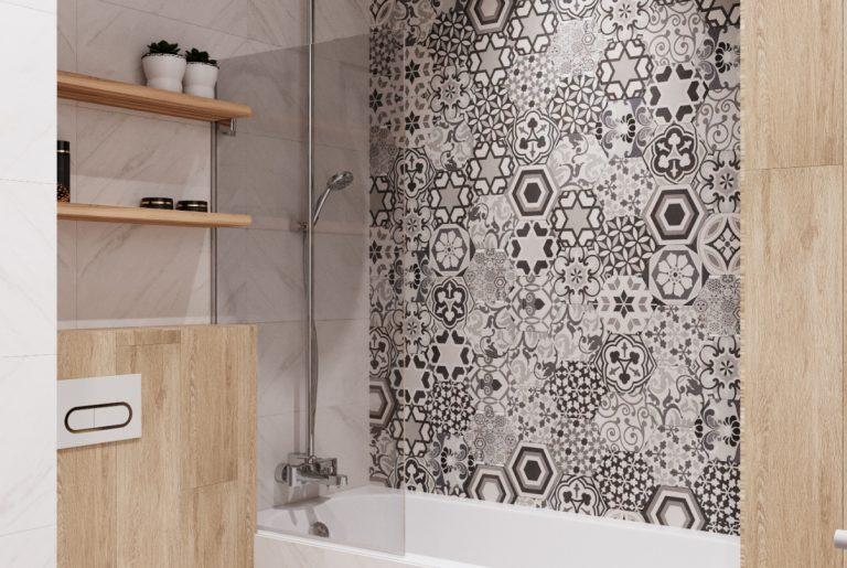ванна в мастер-ванной