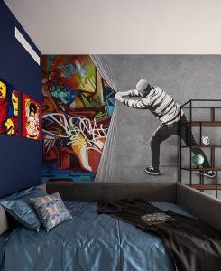 графити в детской