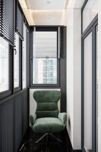 балкон мастер-спальни