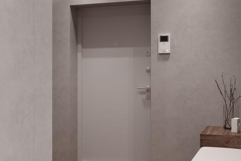 домофон у входной двери