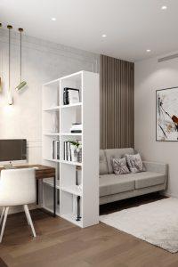 гостевая спальня с диваном