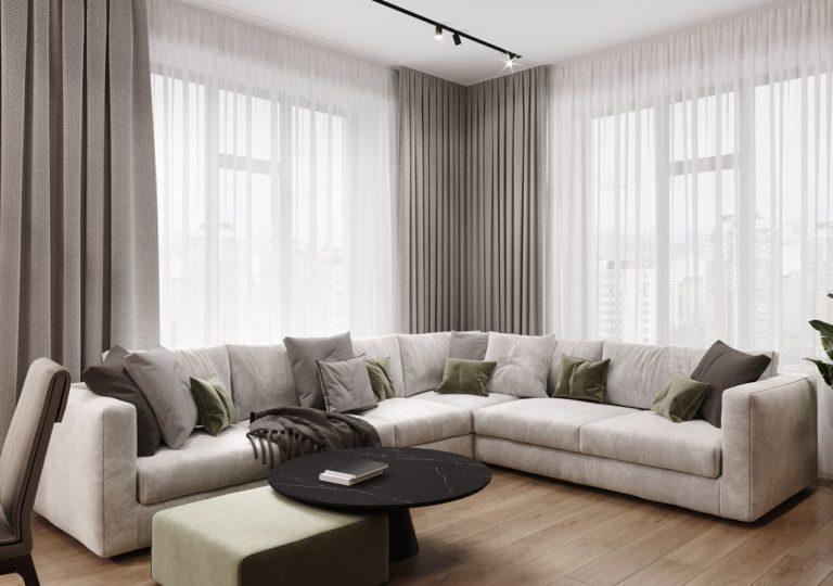 Квартира 127 кв.м. в ЖК Серебряный Парк