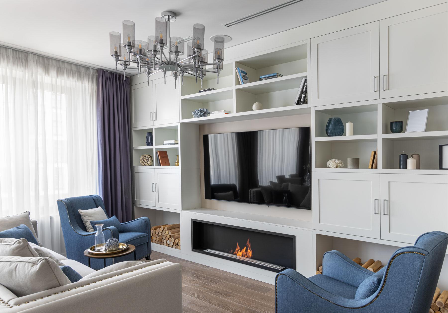 Съемка интерьера квартиры в ЖК Царская площадь